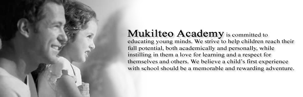 Welcome to Mukilteo Academy